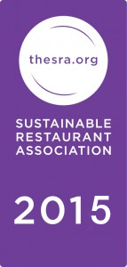 Sustainable Restaurant Association member 2015 logo
