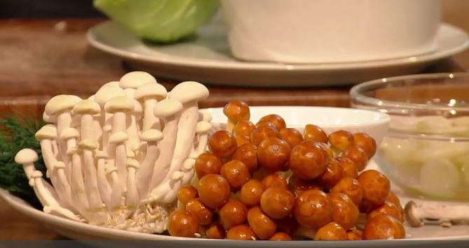 Our mushrooms on Saturday Kitchen -  Hamish Brown